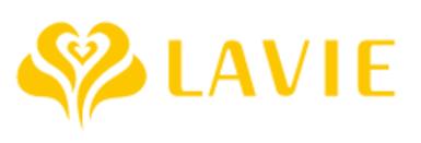 ラヴィ(lavie)ロゴ