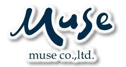 ミューズ(muse)ロゴ